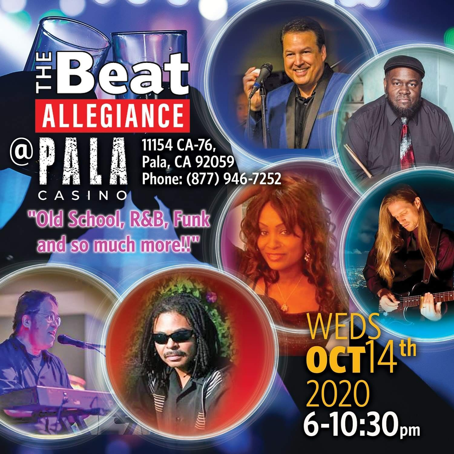 Live music at Pala with The Beat Allegiance